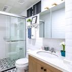 清爽日式卫浴装修案例