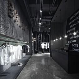 巴鲁特男装店收银台设计