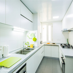 极简北欧风厨房设计