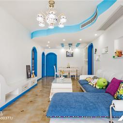 家居地中海风客厅装修