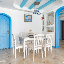 地中海风餐厅设计案例