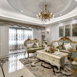 浪漫混搭风格客厅设计案例