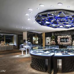 金茂珠宝旗舰店展示柜设计