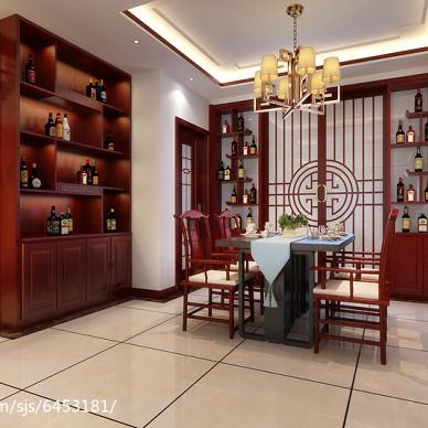 新中式三居室案例_2549032