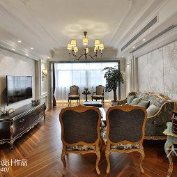精美欧式风格客厅效果图