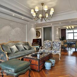 浪漫欧式风格客厅设计