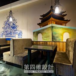 特色主题餐厅卡座设计