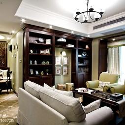 美式风格小户型客厅装修