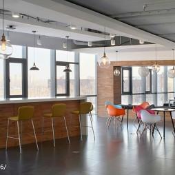 猎豹移动全球总部吧台设计