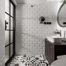 混搭风格二居室卫浴设计