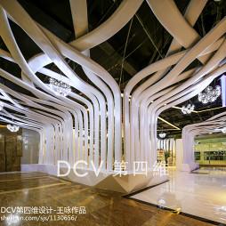 酒吧式主题KTV创意吊顶设计