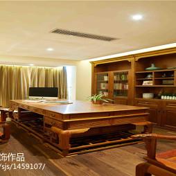 简欧风格木质书房设计