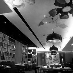火锅餐厅吊顶设计