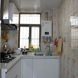 整洁田园风格厨房装修