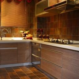 美式风格样板间厨房装修