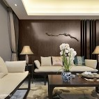 别致中式风格客厅效果图