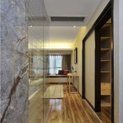 家装中式风格过道设计