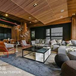 雅致中式风格大气客厅设计