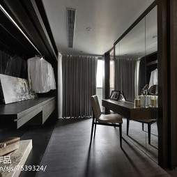 家装现代风格卧室衣帽间设计