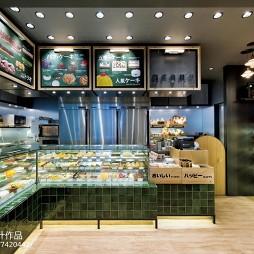 面包西饼专门店展示柜设计