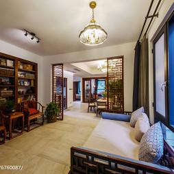 中式风格别墅书房装修