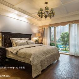 美式风格大气卧室设计