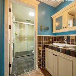 清新美式卫浴设计