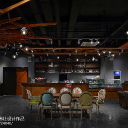 复古工业风咖啡厅设计