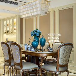 浪漫欧式风格餐厅设计