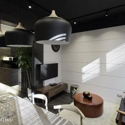 LOFT风格家装客厅装饰图