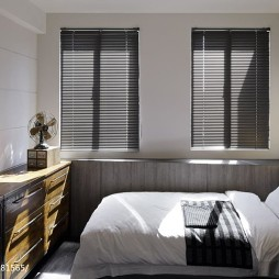 LOFT风格二居室卧室设计