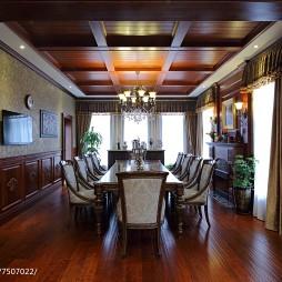 美式古典餐厅设计案例