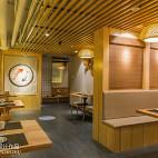 竹の里日式料理店隔断装修