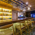 竹の里日式料理店吧台装修