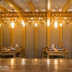 竹の里日式料理店吊顶装修