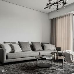 悠然現代風格客廳裝修