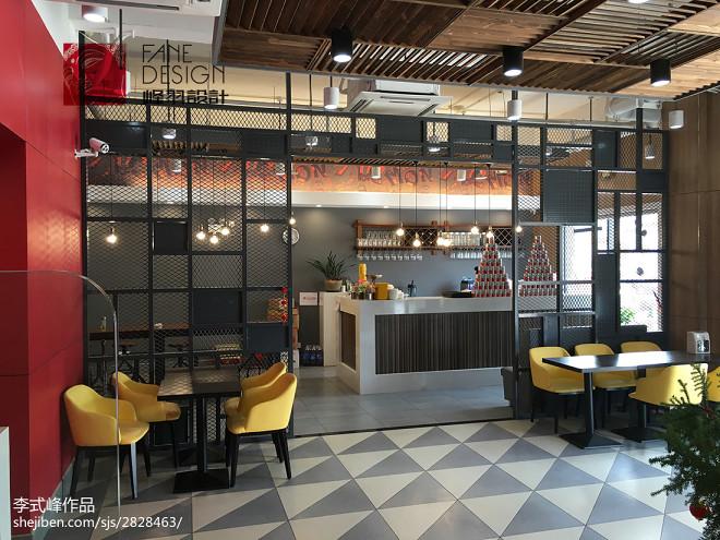 香恋柠萌餐厅室内设计