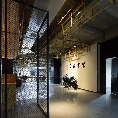 邓澍霖设计作品-摩托车销售办公室_2565551
