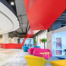 联合办公空间多彩设计