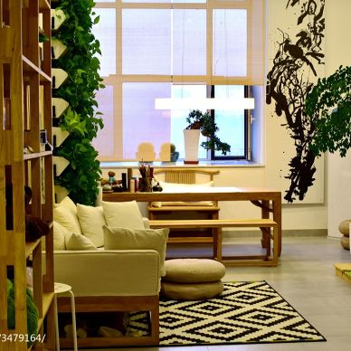 LOFT风格小户型客厅效果图