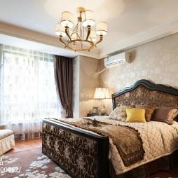 法式风格样板间卧室装修