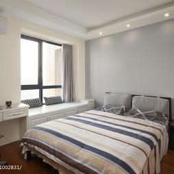 白色混搭风格卧室设计