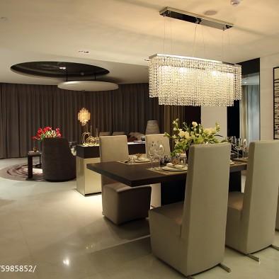 黑白简约风餐厅设计