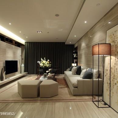 新中式风格客厅装修大全