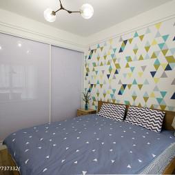 最新美式风格卧室装饰图