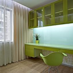 现代风格简约书房设计