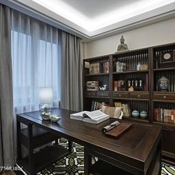 简约中式风格书房设计