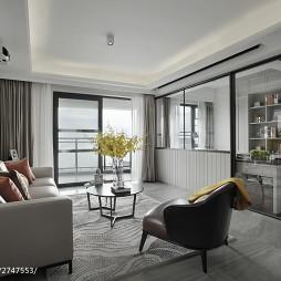 现代风格四居室客厅装修