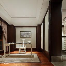 中式风格样板房书房设计