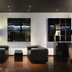 工装服装店休息区设计
